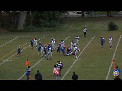 Malverne HTH Mules Football Team vs Woodmere Middle School Bulldogs - Thursday September, 26, 2019