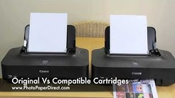 Comparison Of Original Cartridges Against Compatible Cartridges