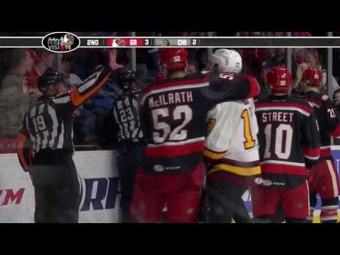 Highlights | 5-8-17 | Chicago Wolves | Round 2, Game 4 - Callahan Hat Trick