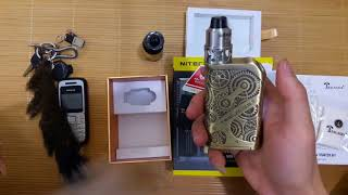 review Vape Tesla Nano 120w Kit chnh hng 2017  Vapechinhhang.com
