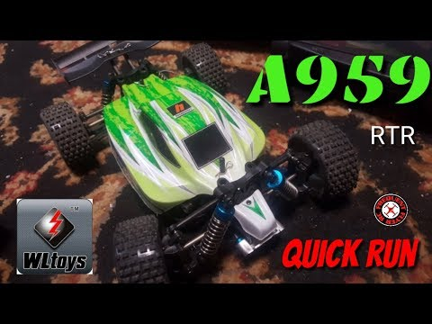 WLToys A959 Upgraded Version