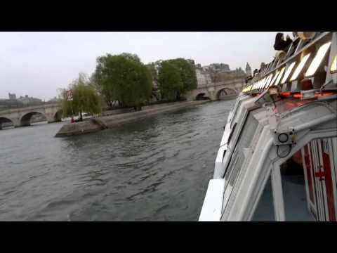 Paris from River Seine