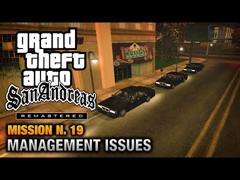 GTA San Andreas Remastered - Mission #19 - Management Issues (Xbox 360 / PS3)