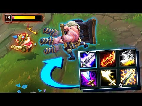 "CRAZY BUILDS THAT WORK - Unbelievable ""New Meta"" Builds - League of Legends"