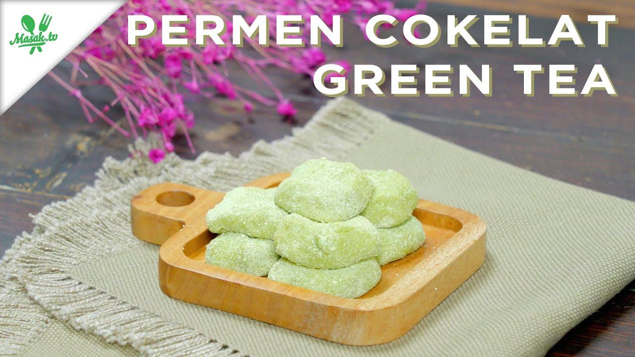 RESEP PERMEN SUSU COKELAT TAMBAH GREENTEA?!