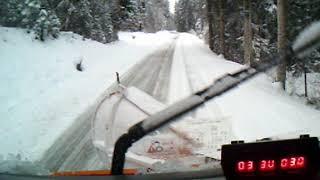 Tourisme en chasse-neige sur les routes du Haut Jura 4/8