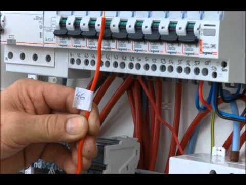 Branchement d 39 un tableau lectrique doovi - Compteur electrique comment ca marche ...