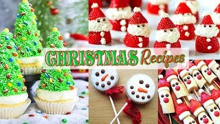 Simple and Creative Christmas Recipes in 3 minutes! Christmas Cookies and Treat ideas