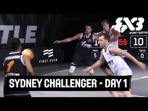LIVE 🔴 - FIBA 3x3 Sydney Challenger 2018 - Day 1 - Sydney, Australia