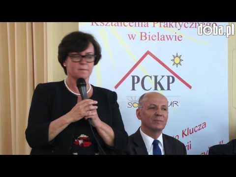 Joanna Kluzik-Rostkowska w powiecie dzierżoniowskim