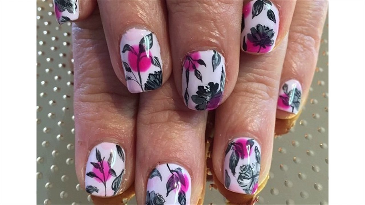 Diamond Nails - YouTube