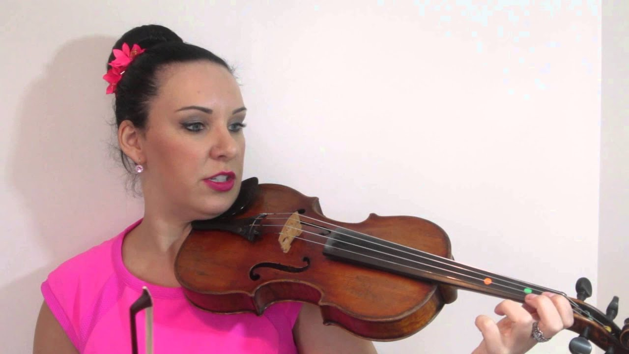 All Of Me - EASY Violin Tutorial using TAB - YouTube