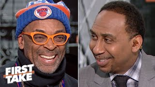 'I look stupid' for spending $10 million on Knicks tickets - Spike Lee to Stephen A. | First Take