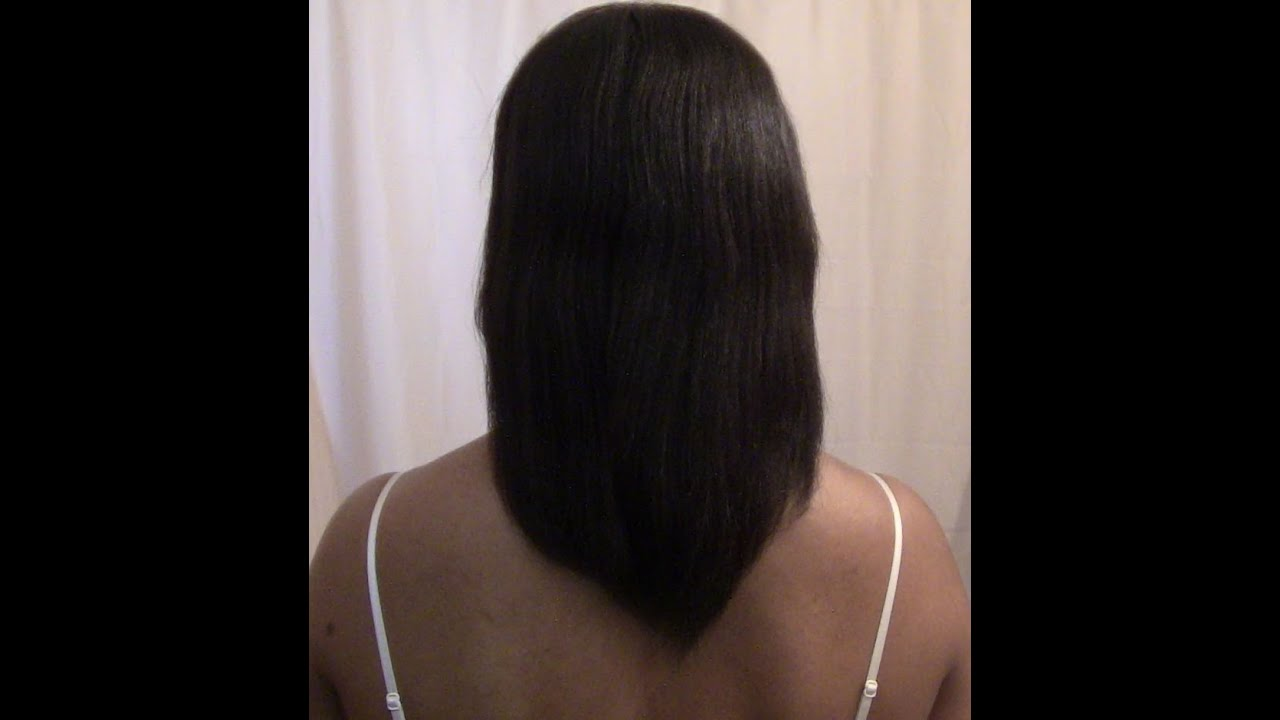 growing relaxed hair longer update