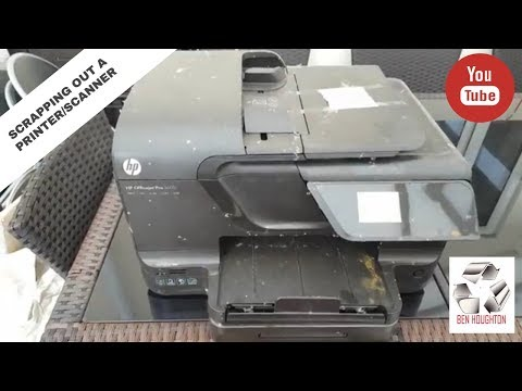 Scrapping out a printer/scanner to determine its value