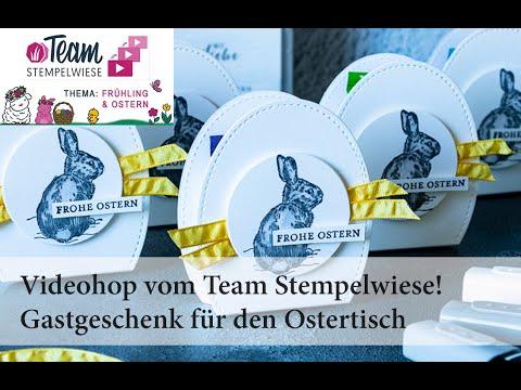 Video-Hop Team Stempelwiese, kleine Gastgeschenke für den Ostertisch
