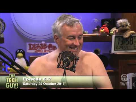 Leo Laporte Taking His Shirt Off After The Tech Guy Youtube