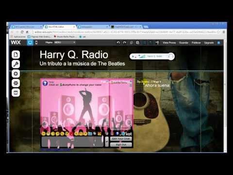 Página web para tu emisora de radio con reproductor y chat