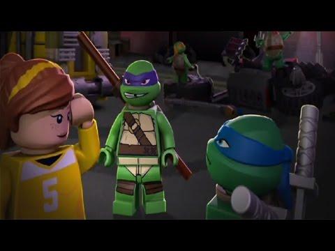 TMNT: Ninja Turtles 2014 - Save April! - Ninja Turtles Games - YouTube