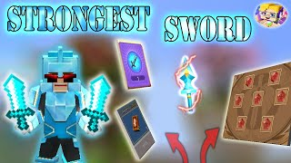 POWER OF STRONGEST SWORD In Bed Wars | Blockman Go Gameplay (Android , iOS)