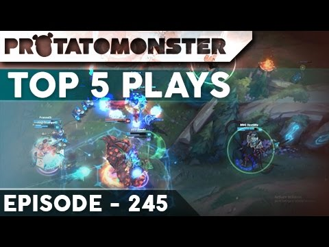 League Of Legends Top 5 Plays Week 245