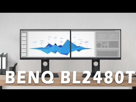 BenQ BL2480T – ergonomischer IPS-Business-Monitor