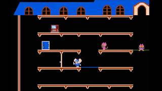NES Longplay [856] Mappy