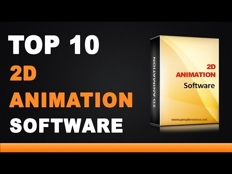 Best 2D Animation Software - Top 10 List