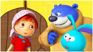 قصص اطفال قبل النوم | الدنيا روزي | لين والدببة الأربعة | قناة براعم للأطفال | Arabian Fairy Tales