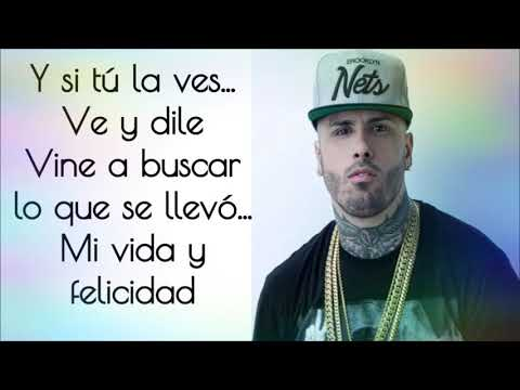 Wisin ft.Nicky Jam - Si Tú La Ves Letra