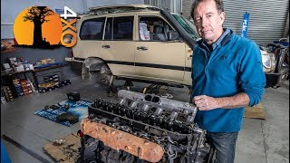 ENGINE MUST COME OUT! NEW LIFE for a 20-Yr OLD LAND CRUISER. part-6.