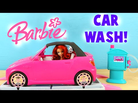 Barbie Car Wash Design Studio Malibu Avenue Diy Create Your Own