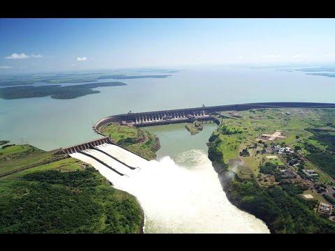 Itaipu Binacional Dam - Brazil and Paraguay