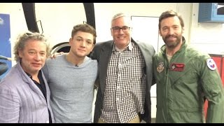 Eddie the Eagle Press Day