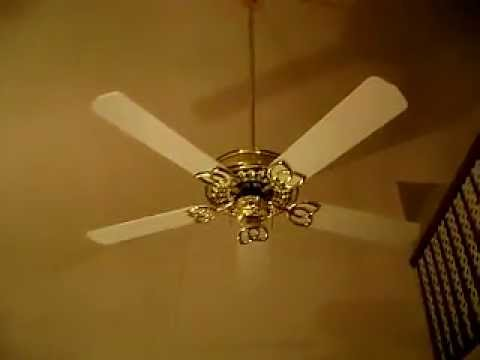 Sierra Victorian Copy Fan With White Blades First Video Youtube