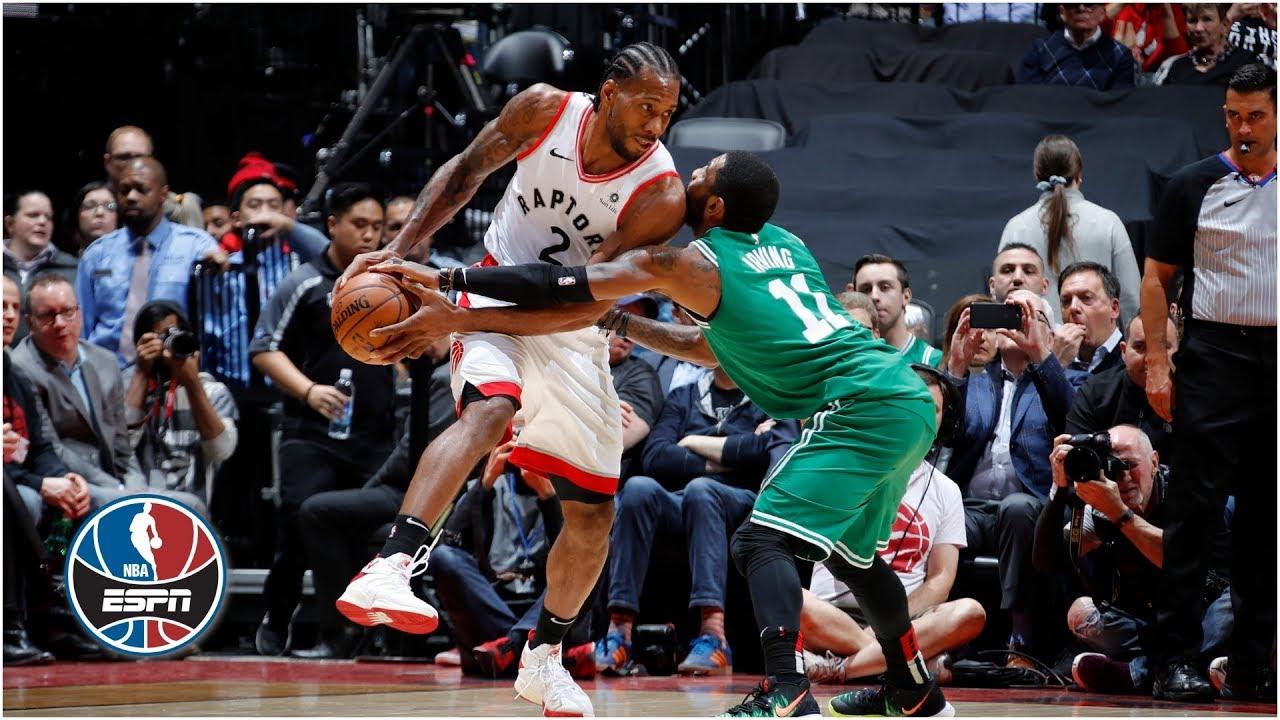 Kawhi Leonard leads Raptors in blowout win vs Celtics | NBA Highlights