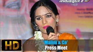 'malini & co' press meet