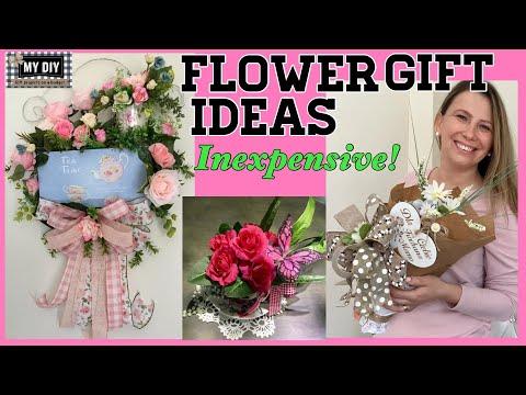 flower-gift-ideas-|-ferrero-rocher-bouquet-|-floral-swag-|-teacup-flower-arrangement-dollar-tree-diy