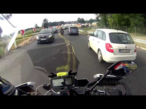 slovakia motorcycle adventure 29 countries 19000km yamaha mt09 tracer