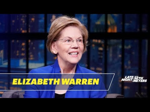 Sen. Elizabeth Warren Talks Julian Castro's Endorsement, Kate McKinnon and Calling Donors
