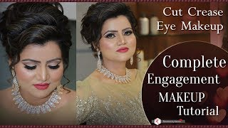 Best Engagement Makeup Tutorial For Indian Bride | Step By Step Bridal Makeup | Krushhh By Konica