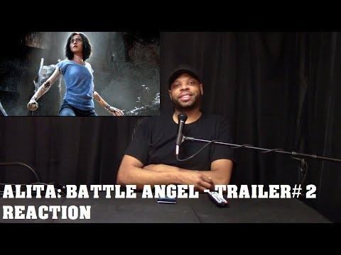 Alita: Battle Angel - Trailer#2 Reaction