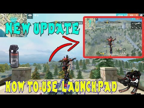 How to use launch pad in free fire|| Free fire Tricks in tips Telugu  || Telugu Gaming Zone