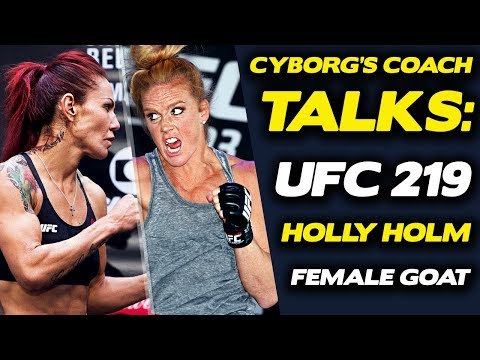 """Cris Cyborg's Coach: Holly Holm Will """"Go to Sleep"""" in Devastating Fashion"""