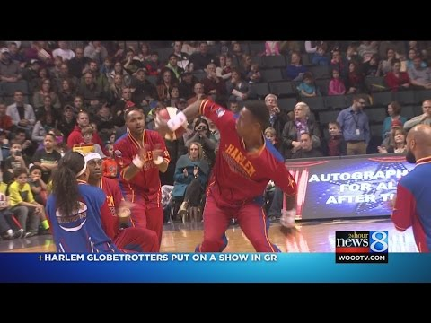 Harlem Globetrotters play in Grand Rapids