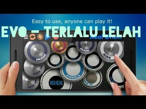 Evo Terlalu Lelah - real drum cover | goplak ngapak