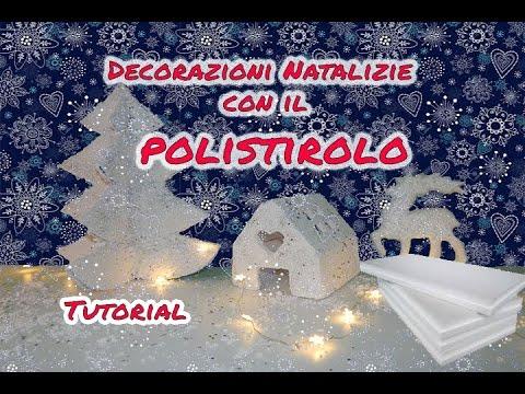 Decorazioni Natalizie Con Il Polistirolo.Diy Decorazioni Natalizie In Polistirolo Coll La Nina Diy Youtube