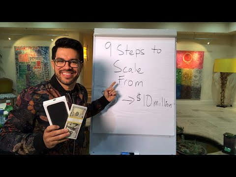 💵📚 The 9 Ways To Accelerate & Scale A Business From $0 to $10,000,000 💵📚 tailopez.com/wealthy