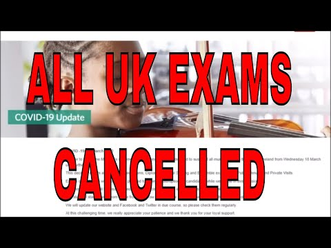 ABRSM Exams Cancelled: Covid-19