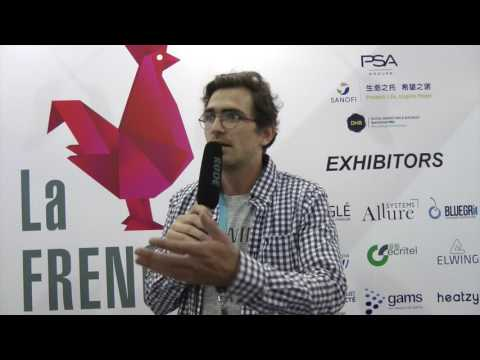 Interview d'un entrepreneur de la French Tech au CES Asia 2016 : Q.Sartorius, de Elwing